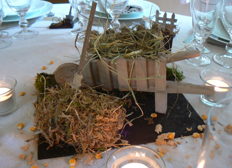 Décoration champêtre   Bouts de Ficelle et Doigts de Fées
