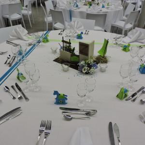 création de décors de table à thème