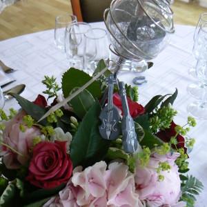 décoration de table pour mariage, baptême, communion dans le Nord et la Belgique