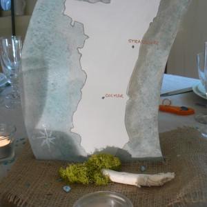 centre de table et décoration personnalisé dans le Nord et la Belgique