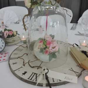 décoration de table personnalisée dans le Nord et la Belgique