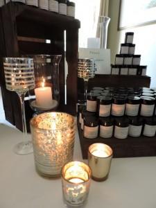 cadeau invités femmes bougies