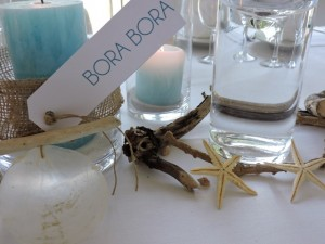décoration de mariage thème polynésie